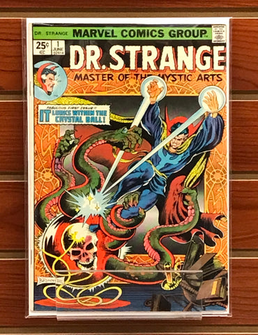 DOCTOR STRANGE #1 FRANK BRUNNER MARVEL (1974)-VF/NM