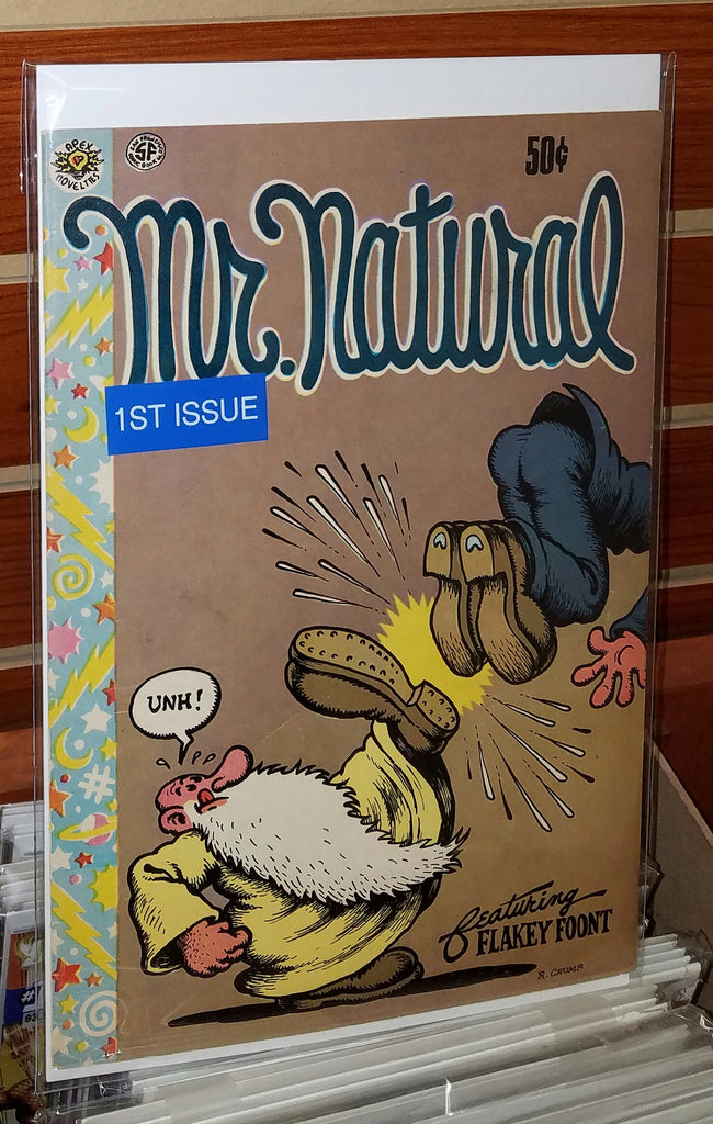 MR. NATURAL #1 (1970) 4TH PRINTING ROBERT CRUMB-VF+/NM