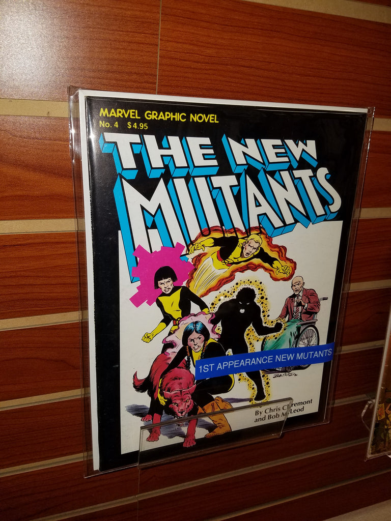 MARVEL GRAPHIC NOVEL #4 (1982) 1ST APP. NEW MUTANTS 1ST PRINTING-NM+