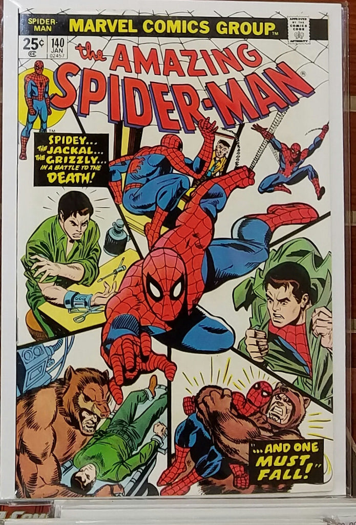 Amazing Spider-Man #140 (1975) Origin