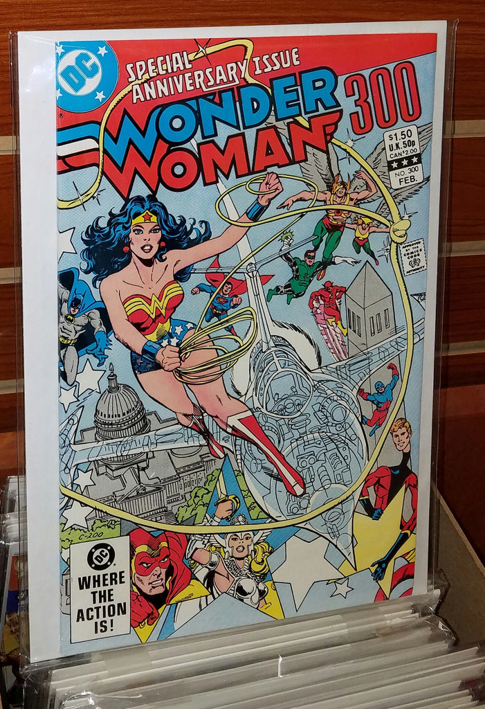 WONDER WOMAN #300 (1983) GEORGE PEREZ ED HANNIGAN-NM