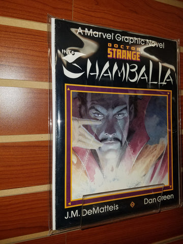 Doctor Strange Into Shamballa Graphic Novel (1986)