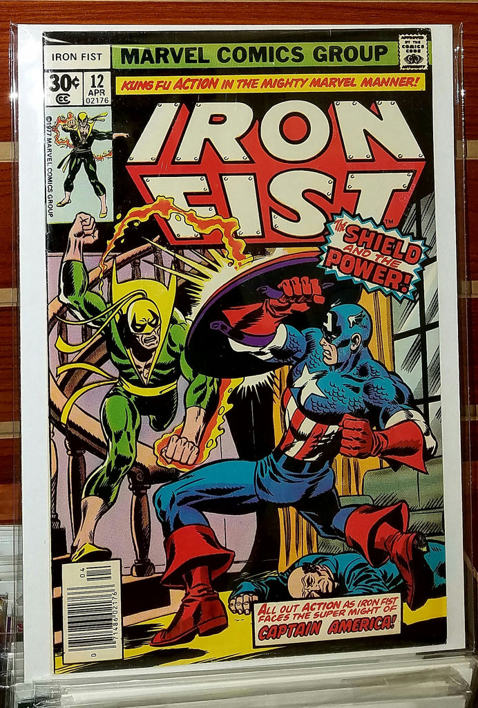 Iron Fist #12 (1977) Chris Claremont John Byrne