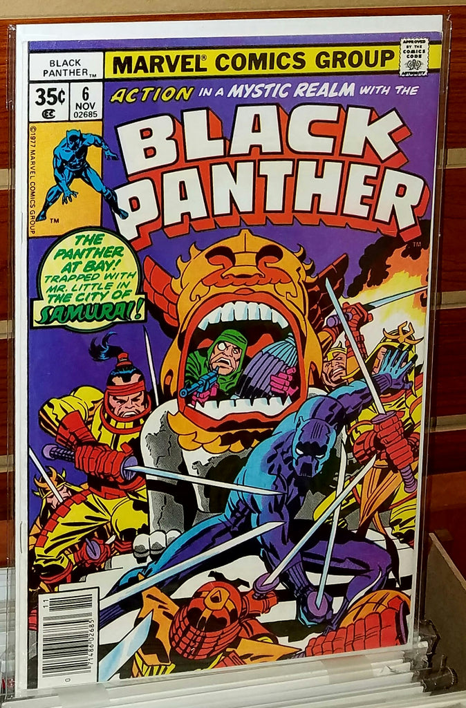 Black Panther #6 (1977) Jack Kirby Cover