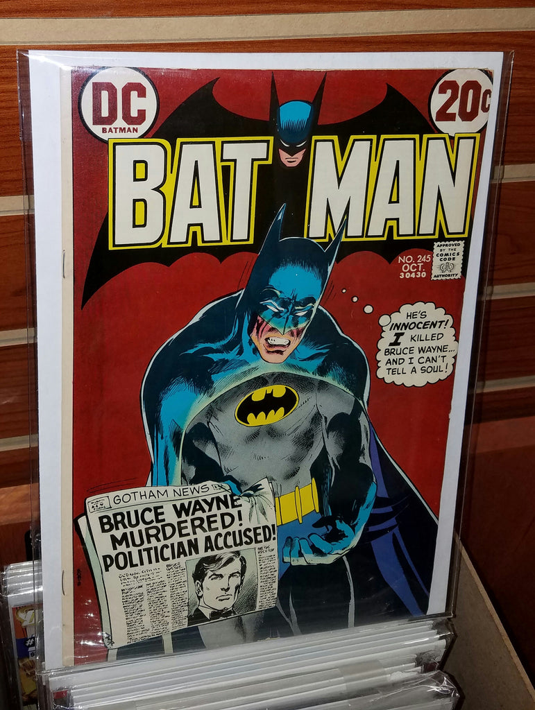 Batman #245 (1972) Neal Adams Cover