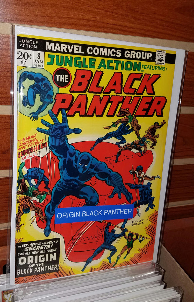 Jungle Action #8 (1974) Origin Black Panther