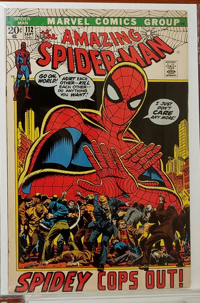 Amazing Spider-Man #112 (1972) Doctor Octopus