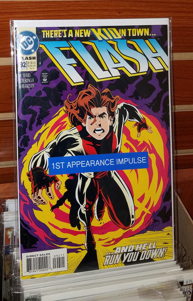 FLASH #92 (1994) 1ST APPEARANCE IMPULSE-NM+