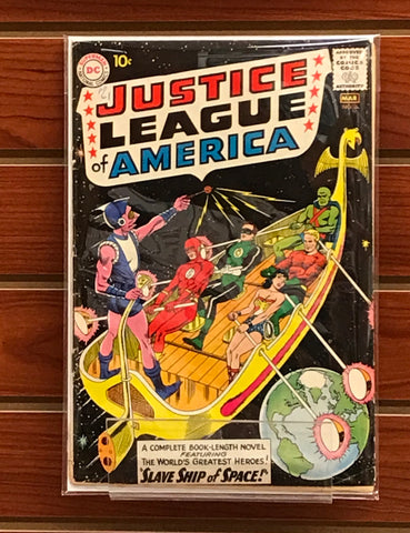 JUSTICE LEAGUE OF AMERICA #3 (1961) GARDNER FOX MURPHY ANDERSON-VG/FN