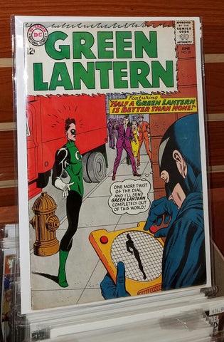 Green Lantern #29 (1964) 1st Appearance Black Hand