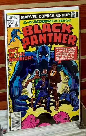 Black Panther #8 (1978) Jack Kirby Cover