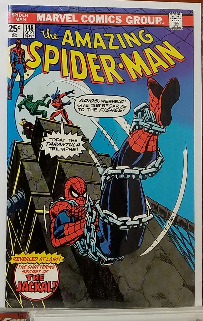 AMAZING SPIDER-MAN #148 (1975) JOHN ROMITA COVER-NM