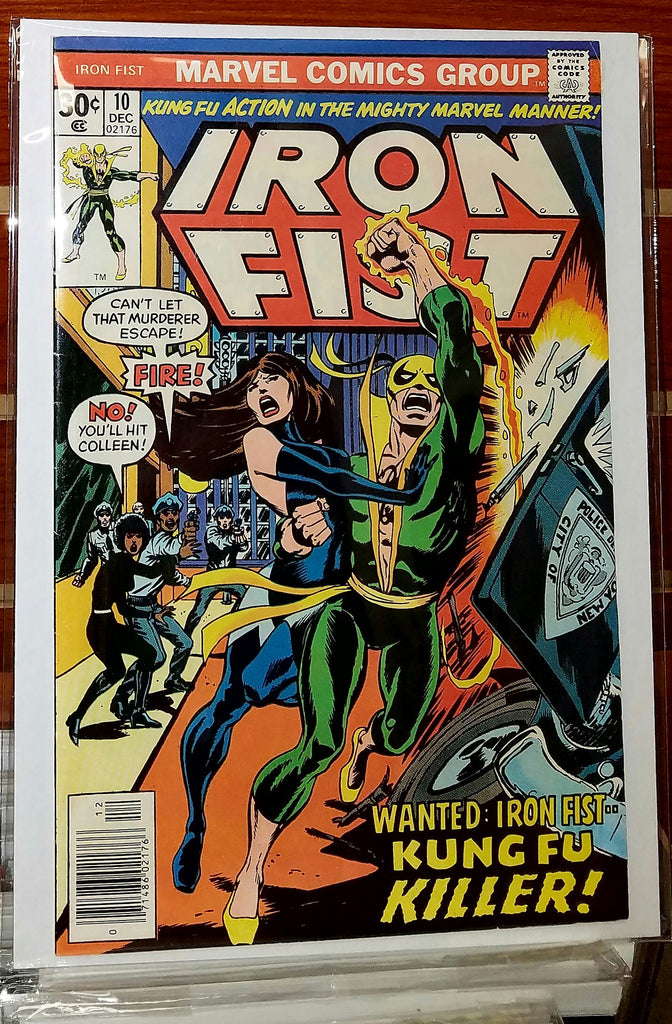 Iron Fist #10 (1976) Chris Claremont John Byrne