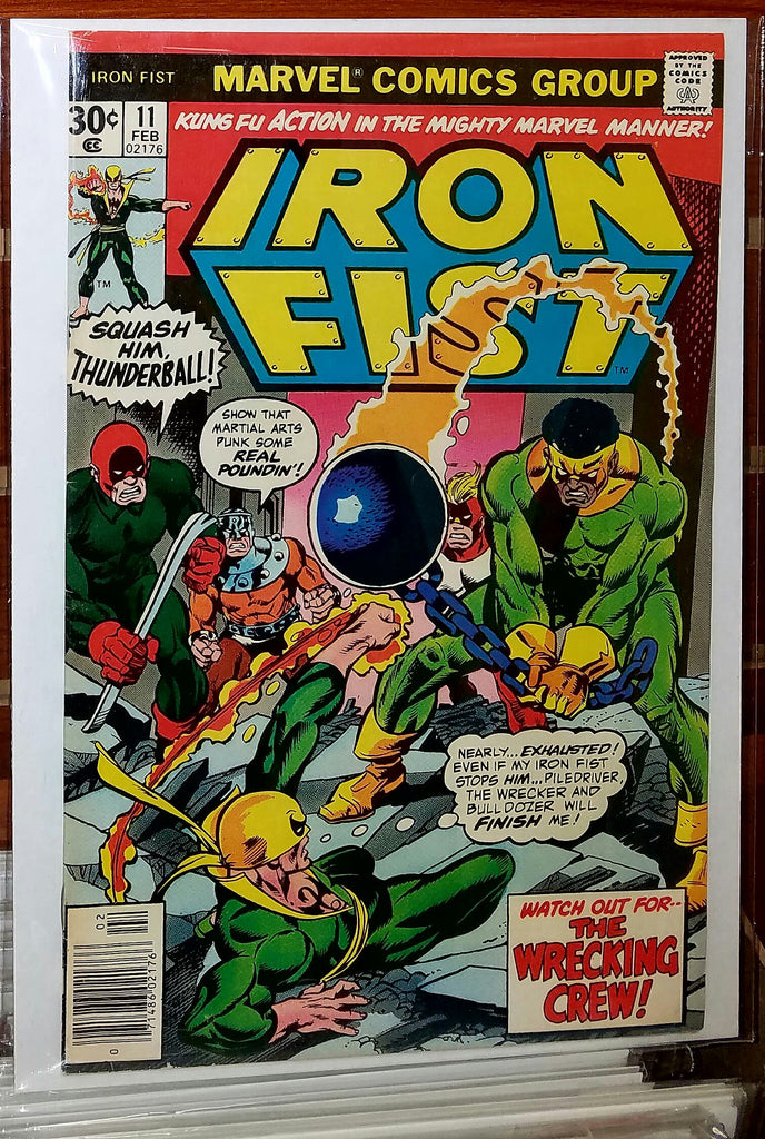 Iron Fist #11 (1977) Chris Claremont John Byrne