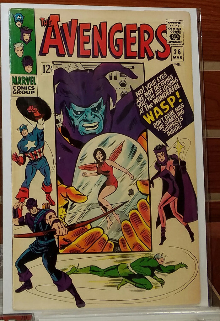AVENGERS #26 (1966) SUB-MARINER APPEARANCE-VF