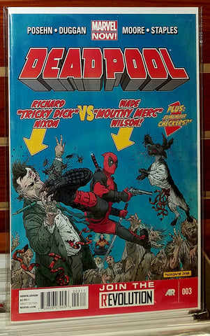 Deadpool #2 (2012) Marvel Now 1st Printing