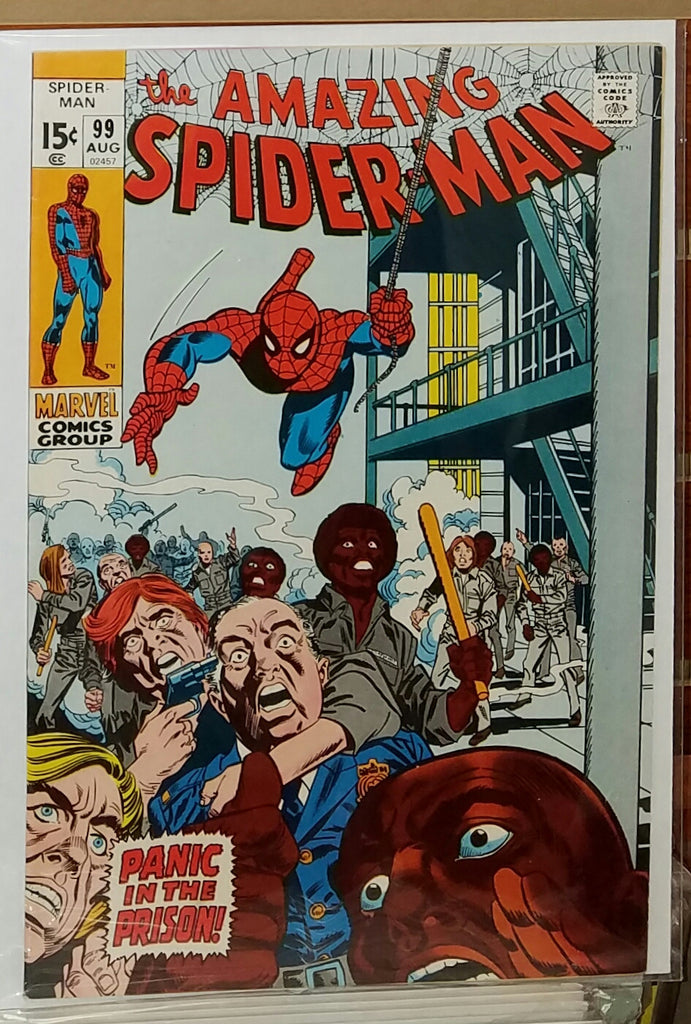 Amazing Spider-Man #99 (1971) Johnny Carson