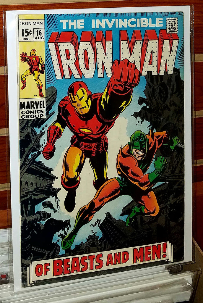 Iron Man #16 (1969) Nick Fury Appearance