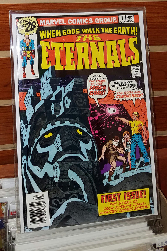 ETERNALS #1 (1976) JACK KIRBY-NM