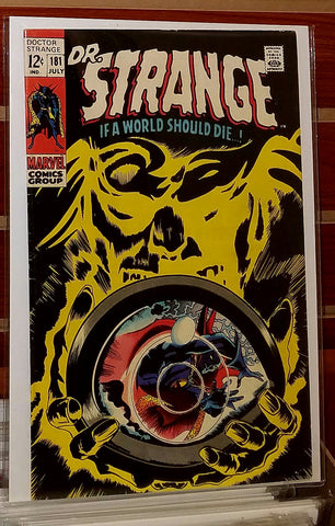 Doctor Strange #181 (1969) Last 12 Cent Issue