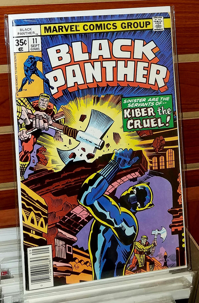 Black Panther #11 (1978) Jack Kirby Cover