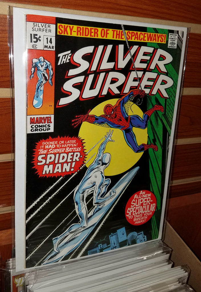 Silver Surfer #14 (1970) Spider-Man
