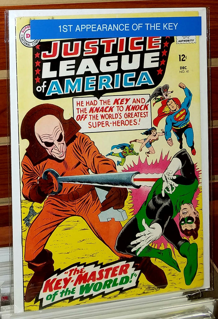 JUSTICE LEAGUE OF AMERICA #41 (1965) 1ST APPEARANCE THE KEY-VF+