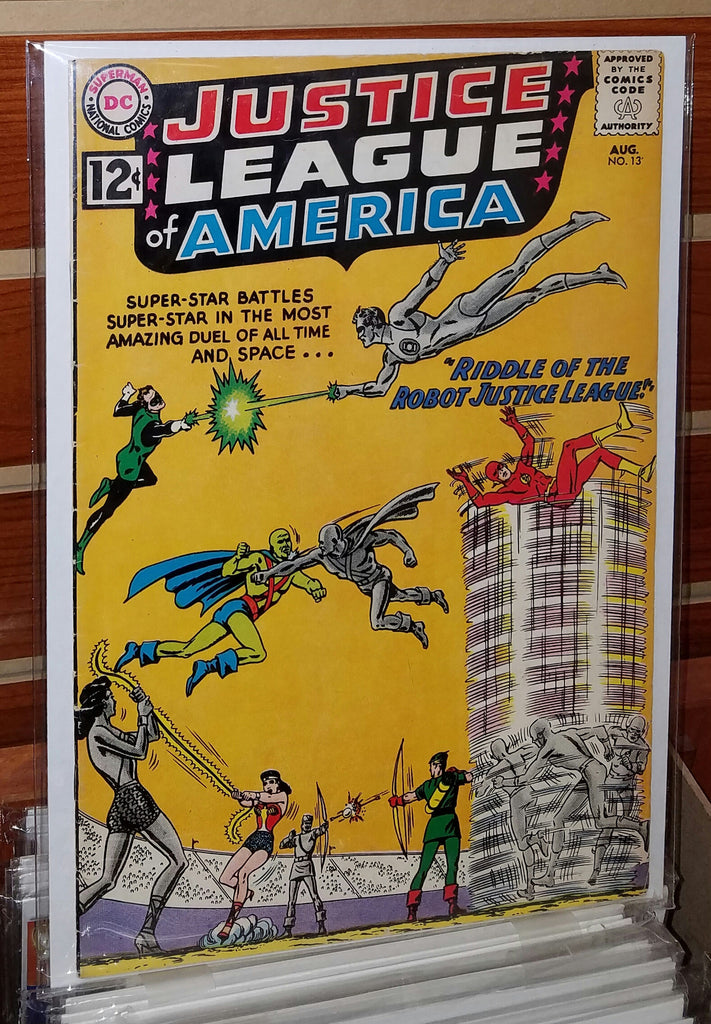 JUSTICE LEAGUE OF AMERICA #13 (1962)-VF-