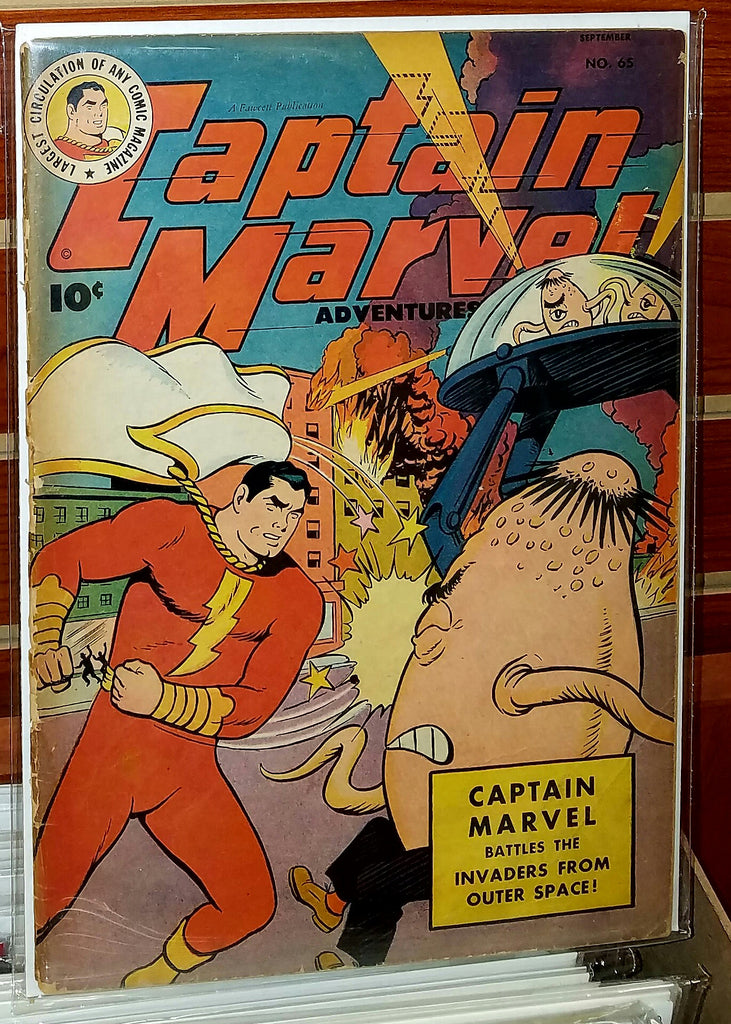 Captain Marvel Adventures #65 (1946) C.C. Beck