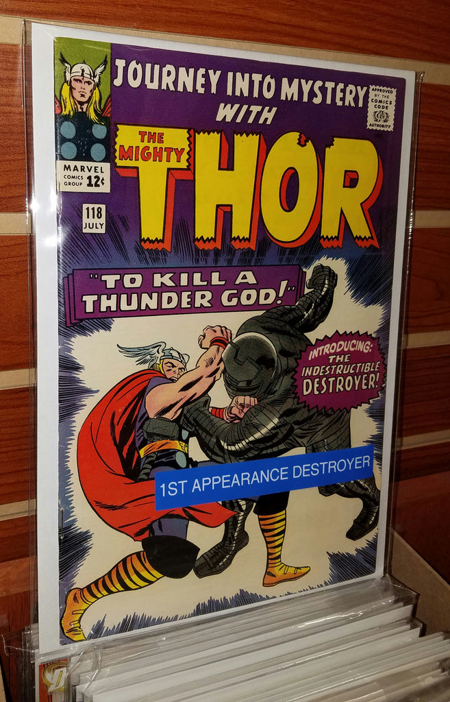 JOURNEY INTO MYSTERY THOR #118 (1965) 1ST APPEARANCE DESTROYER-VF