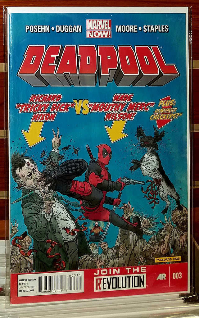 Deadpool #3 (2013) Marvel Now 1st Printing