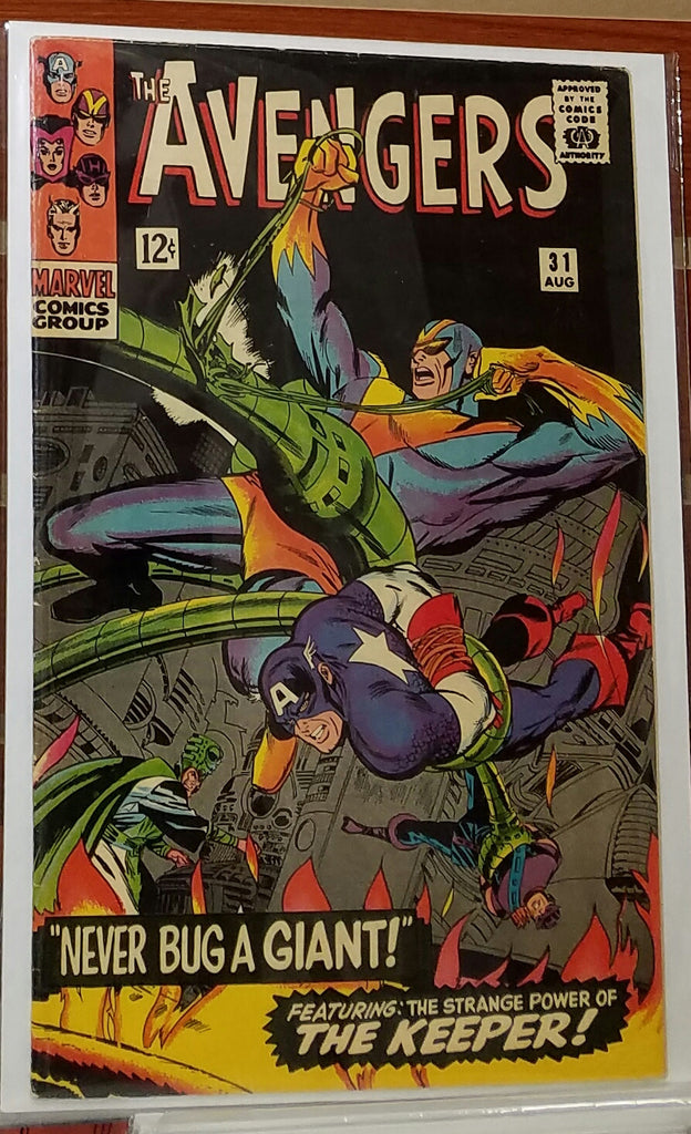 AVENGERS #31 (1966) DON HECK COVER-VF+/NM