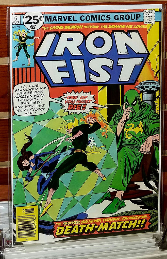 Iron Fist #6 (1976) Chris Claremont John Byrne