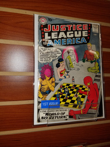 JUSTICE LEAGUE OF AMERICA #1 (1960)-VG-