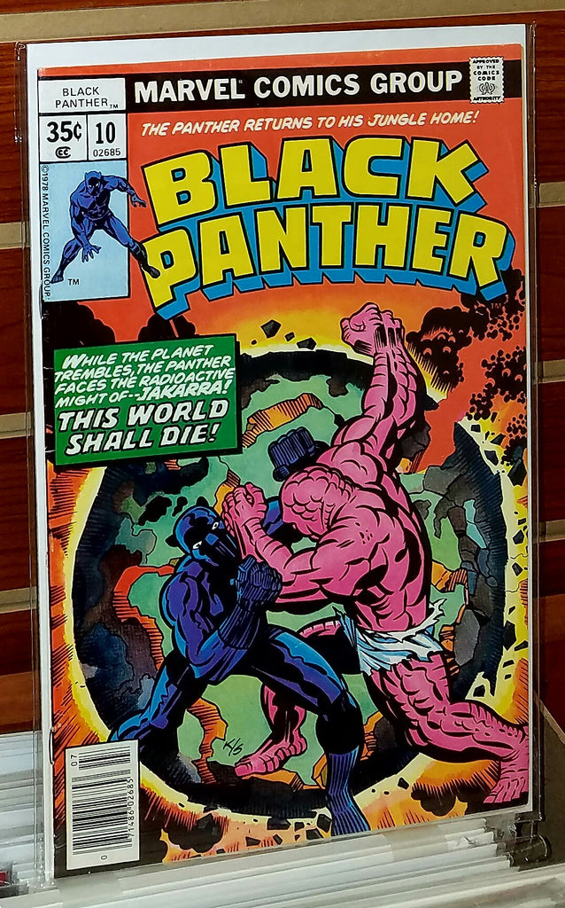 Black Panther #10 (1978) Jack Kirby Cover