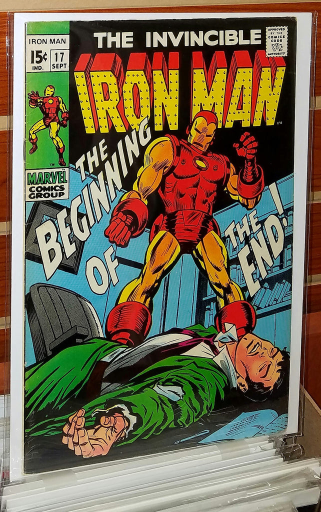 Iron Man #17 (1969) 1st Appearance Midas