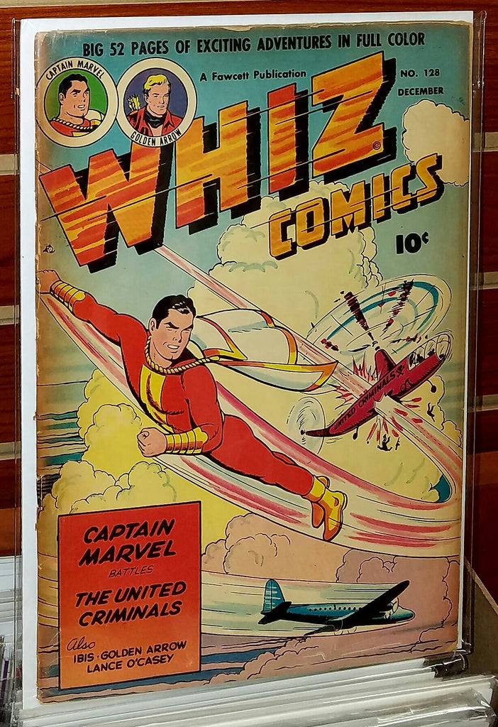 Whiz Comics #128 (1950) Captain Marvel Fawcett
