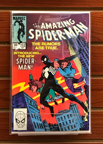 AMAZING SPIDER-MAN #252 1ST BLACK COSTUME-NM