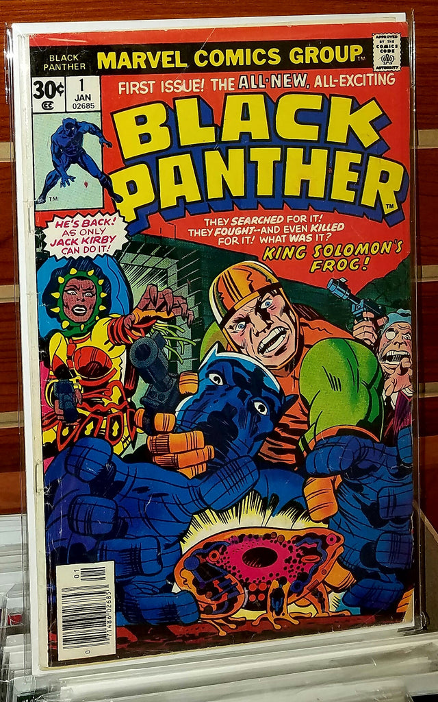 Black Panther #1 (1977) Jack Kirby Cover