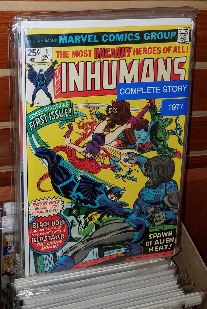 INHUMANS #1-#12 (1977) COMPLETE SET GEORGE PEREZ-VF+