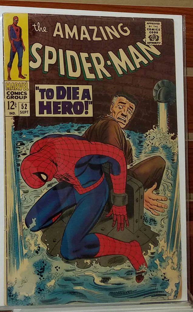 AMAZING SPIDER-MAN #52 (1967) 1ST APPEARANCE JOE ROBERTSON