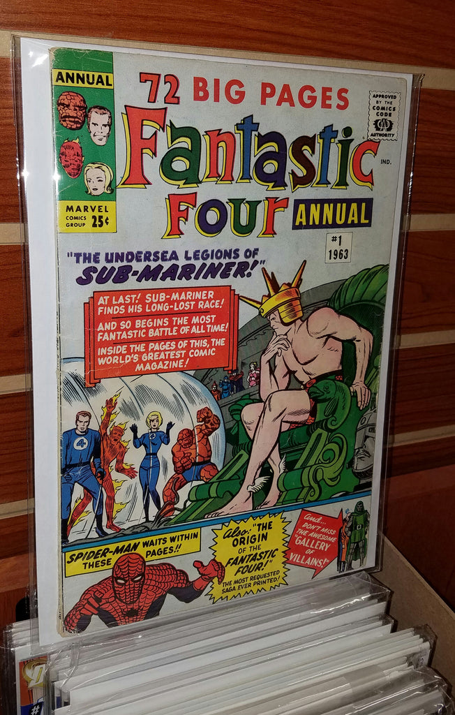Fantastic Four Annual #1 (1963) Spider-Man