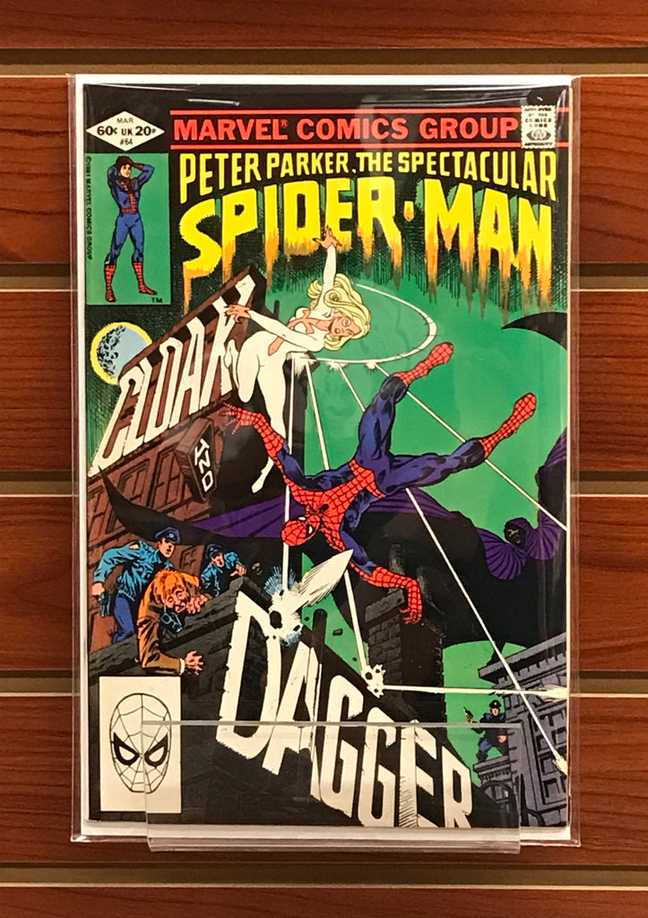 SPECTACULAR SPIDER-MAN #64 (1982) 1ST CLOAK AND DAGGER-VF
