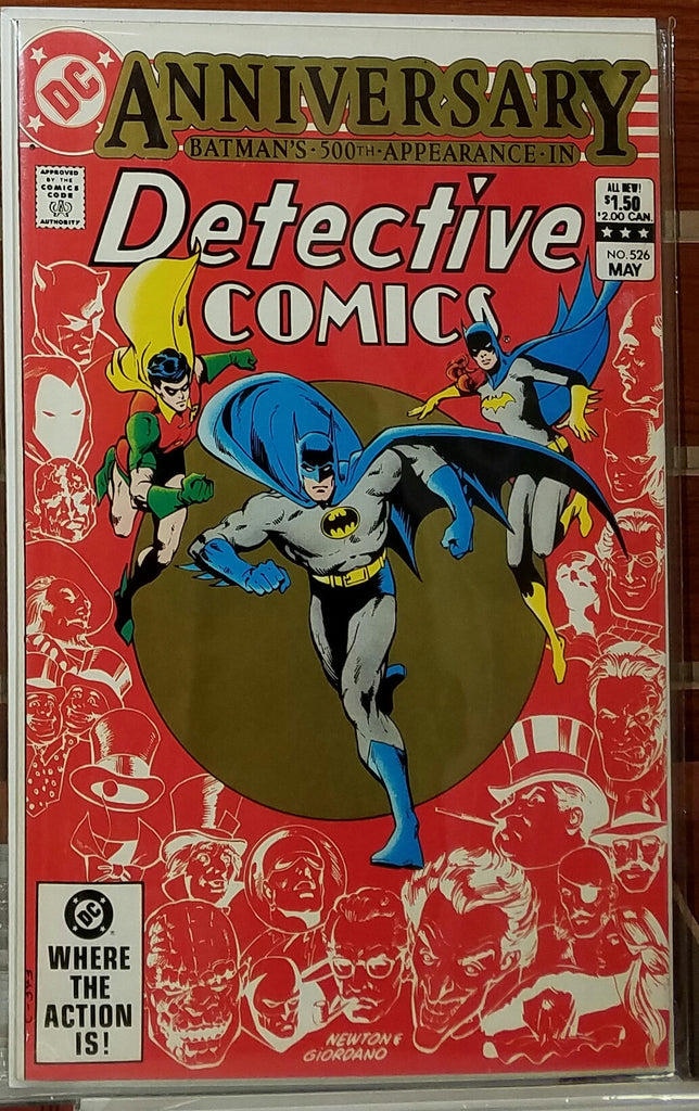 DETECTIVE COMICS #526 (1983) GERRY CONWAY-NM
