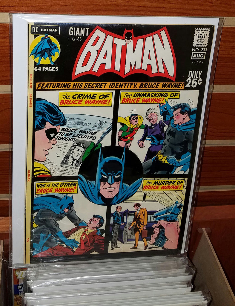 Batman #233 (1971) Batwoman Appearance