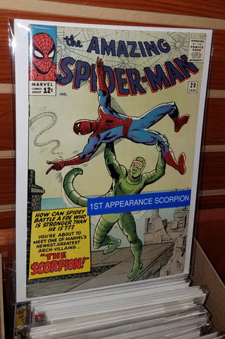 AMAZING SPIDER-MAN #20 (1965) 1ST APPEARANCE SCORPION