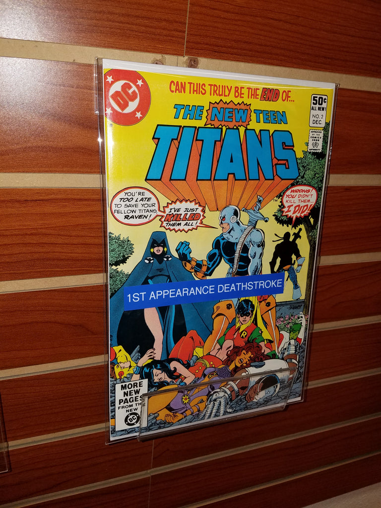 THE NEW TEEN TITANS #2 (1980) 1ST APPEARANCE DEATHSTROKE-NM-