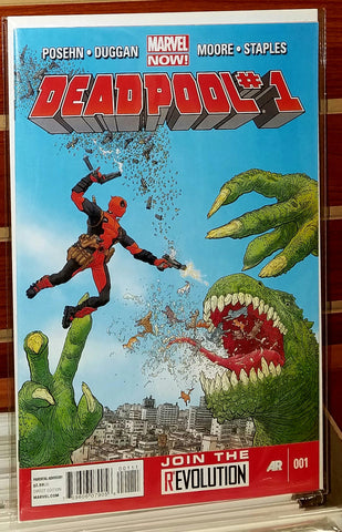 Deadpool #1 (2012) Marvel Now 1st Printing