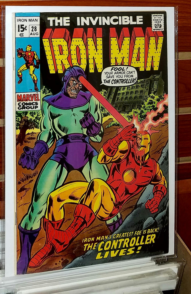 Iron Man #28 (1970) Marie Severin Cover