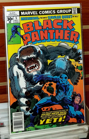 Black Panther #5 (1977) Jack Kirby Cover